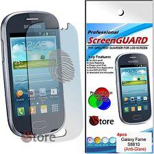 4 Film Matt For Samsung Galaxy Fame S6810 Film Screen Protectors
