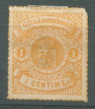 LUXEMBOURG Yvert # 16 b M no Gum VF