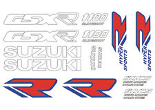Kit 14 Stickers GSXR GSX-R 1100 Suzuki Type 89 - 90