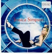 (CE833) Jessica Smpson, I Think I'm In Love With You - 2000 DJ CD