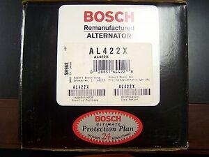 Bosch AL422X Remanufactured Alternator Spectrum I-Mark Sunburst I Mark IMark