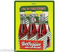 1940's Dr. Pepper Soda Advertising Repro  Refrigerator / Tool Box Magnet