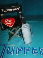 TUPPERWARE BLUE SHEER WATERCOLORS ACRYLIC PITCHER MAGNET GADGET