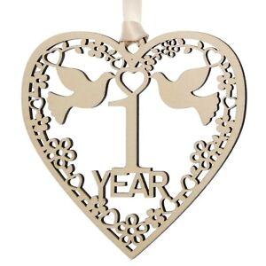 Anniversary gift plaque wood decoration 1 2 3 4 5 10 15 20 25 30 35 40 45 50 60