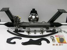 55 56 57 58 59 Chevy Pickup Truck Rack and Pinion Power Steering Conversion