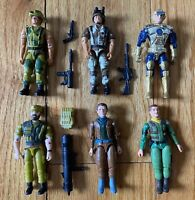 80's Action Figure Lot Remco American Defense Lanard The Corps Mattel Capt Power