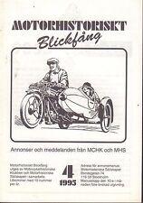 Motorhistoriskt Magasin Annons Swedish Car Magazine 4 1995 Volvo 032717nonDBE