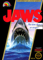🔥 Jaws NES  Disk Only