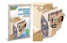 Bathroom Organizer Caddy Magazine Holder Toilet Paper Hanging Bath Storage Bowl