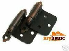 Kitchen Cabinet Flush Hinges Brushed Oil Rubbed Bronze Hinge (pair)