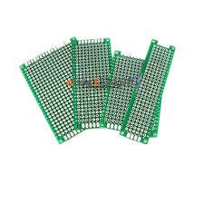 20Pcs Double Side Prototype PCB Tinned breadBoard 5x7 4x6 3x7 2x8CM Each 5Pcs