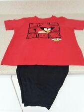 Chicos Angry Birds Pijamas Talla 7 años