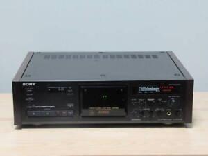 Sony TC-K333ESG 3 Head Cassette Tape Deck Recorder Es Series Black Used