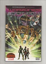 Infinity Gauntlet: Warzones! - TPB Thanos Cover - (Grade 9.2) 2015