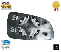 NEW VAUXHALL OPEL ASTRA H MK5 2004-2009 WING MIRROR GLASS HEATED LEFT N/S LHD