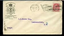 Advertising TORONTO 'F' FLAG 1901 Numeral issue Canada cover