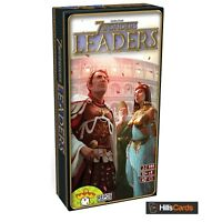 Leaders Expansion for the 7 Wonders Card Game: SEV-EN02: Building, Board, Family