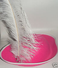 New girl Baby Toddler PIRATE Halloween COSTUME hot pink Hat feather 12-24 months