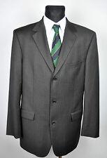 HUGO BOSS 100'S Wool Blazer UK 42L Suit Jacket Long Coat Eur Gr. 52 102 Sakko