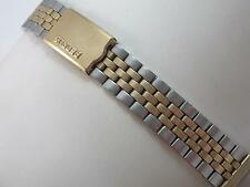 Prospect for Benrus 18mm Mens Vintage Watch Band Gold Filled & SS Deployment Clp