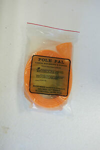 """POLE PAL 72"""" Monofilament Fishing Rod Sleeve Sheath and Hanger Still in package"""