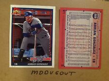 adrian gonzalez #269 Dodgers Star MVP 2016 Topps Archives 1991 5x7 #ed/49 made