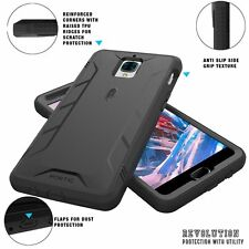 POETIC【Revolution】Shock Absorption Dust Resistant Case For OnePlus 3 / 3T Black