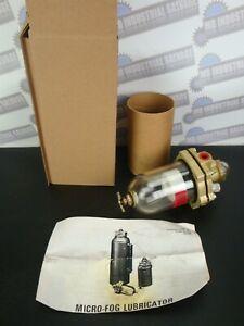 "NORGREN - 10-015-004 MICO-FOG BEARING LUBRICATOR 1/4"" (NEW) Pneumatic MAX 150psi"