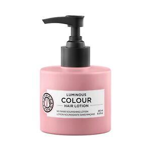 Maria Nila Luminous Color Hair Lotion 6.8 oz / 200 ml sulfate paraben free