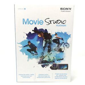 SONY MOVIE STUDIO 12 PLATINUM SUITE Video Editing Software PC Win 8/7/Vista