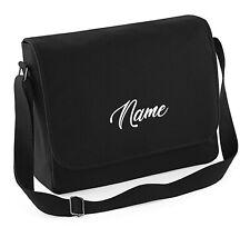 Laptop Bag Tasche Umhängetasche, mit Text/Name nach Wunsch bestickt