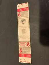 1991 PITTSBURGH PIRATES ATLANTA BRAVES NLCS 6 HOME GAME FULL TICKET MINT UNUSED
