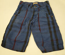 BURBERRY Baby Toddler Boy's Blue 100% Cotton Check Casual Trousers Pants 2Y