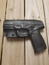 S&W SD9VE/SD40VE Concealment Carbon Fiber Black Kydex IWB holster right handed