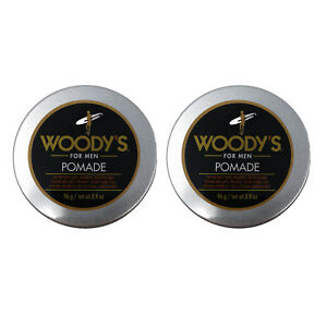 Woody's For Men- Pomade  -3.4 Ounces {Workable Texture & Shine} 2 PACK