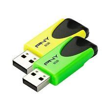 Unidad USB flash amarillo para ordenadores y tablets USB 2.0 para 8GB