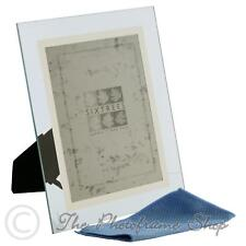 Sixtrees Stanbridge GM176 8x6 inch Bevelled Glass & Mirror Line Photo Frame