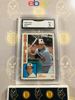 1984 Topps Cal Ripken #490 - 9 MINT GMA Graded Baseball Card