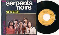 """LES SERPENTS NOIRS 45 TOURS 7"""" BELGIUM VOYAGE"""