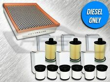 AIR, 3 OIL, & 3 FUEL FILTERS FOR 2014 JEEP GRAND CHEROKEE 3.0L TURBO DIESEL ONLY
