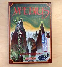 Atari Moebius ST Vintage Computer Origin Systems Game Disks Box Manual +POSTER
