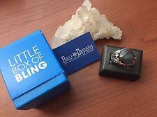 Bali Designs by Robert Manse Labradorite Two Tone Sterling Silver 18K Ring,Sz.10