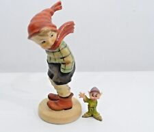 "Vtg Older Japan Hummel Reproduction  Figurine ""March Wind"" Boy 5 3/4 Inch Mint"