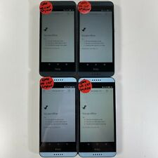 Mixed Lot of 4 HTC Desire 550 and 555 phones Cricket Wireless  *Check IMEI*