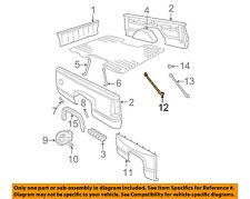 GM OEM Rear Fender Panel-Bed-Fender Brace 15603625