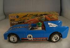 Tri-ang GB Mini-Hi-Way Rally car series Acropolis n° 14 rare en boite 16,5 cm