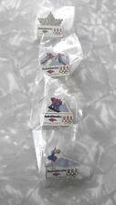 olympic pins usa winter from bank of america.collection of 4
