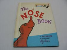 THE NOSE BOOK - AL PERKINS - RETRO 1970 CHILDREN'S HARDBACK BOOK!
