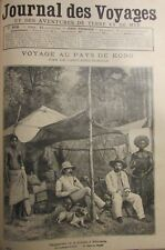 Journal of Voyages No No 816 of 1893 Africa Mission Afforenou Pays de Kong