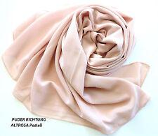 Chiffon Stola Schal Chiffonschal Hochzeit Bolero Abendkleid Tuch Hijab Puder